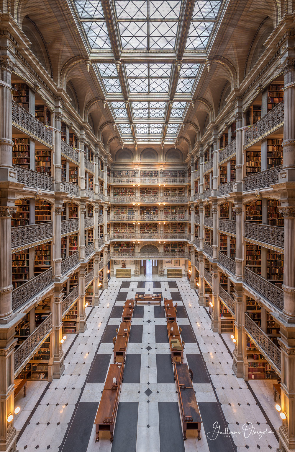 Peabody Library - Baltimore MD