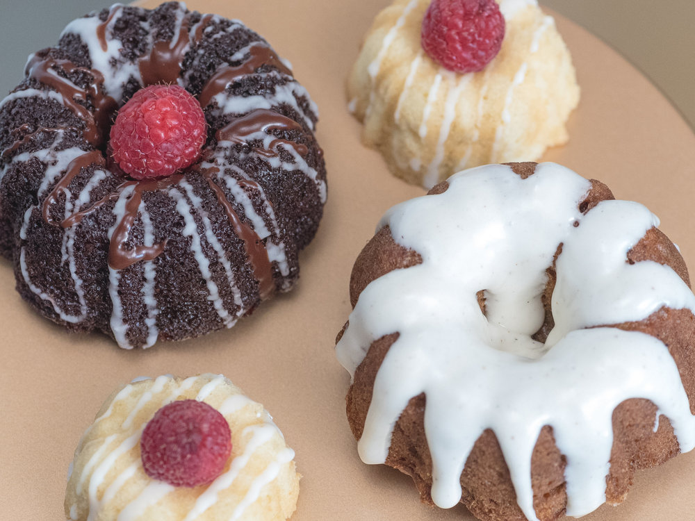 Mini bundts and bite size bundts