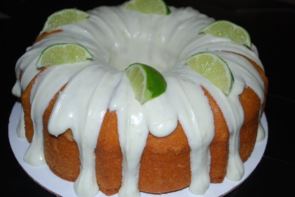 Key Lime Coconut Bundt