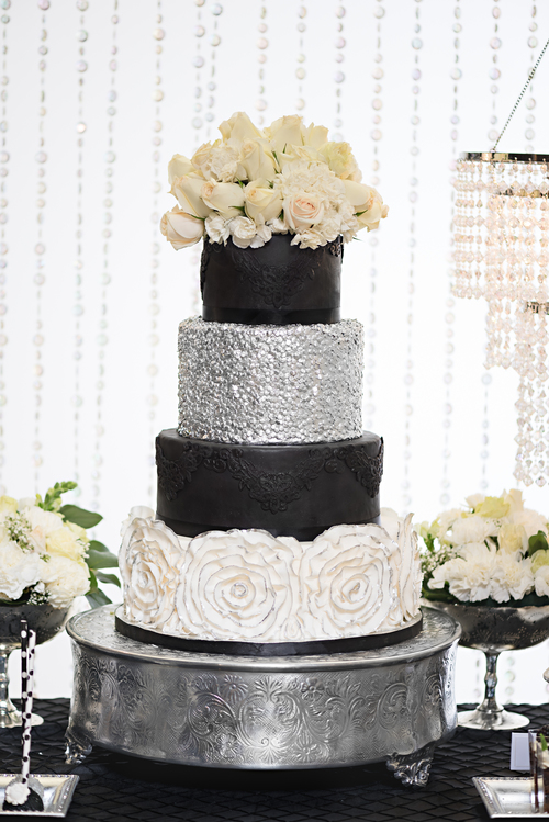 Best Black White Silver Wedding Contemporary - Styles & Ideas 2018 ...