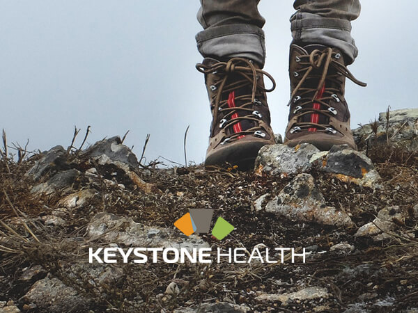 Yours in health    Looking to establish themselves in the City of Guelph community, health centre start-up Keystone Health contacted us to develop and  design their brand , from corporate identity to their presence on the web.