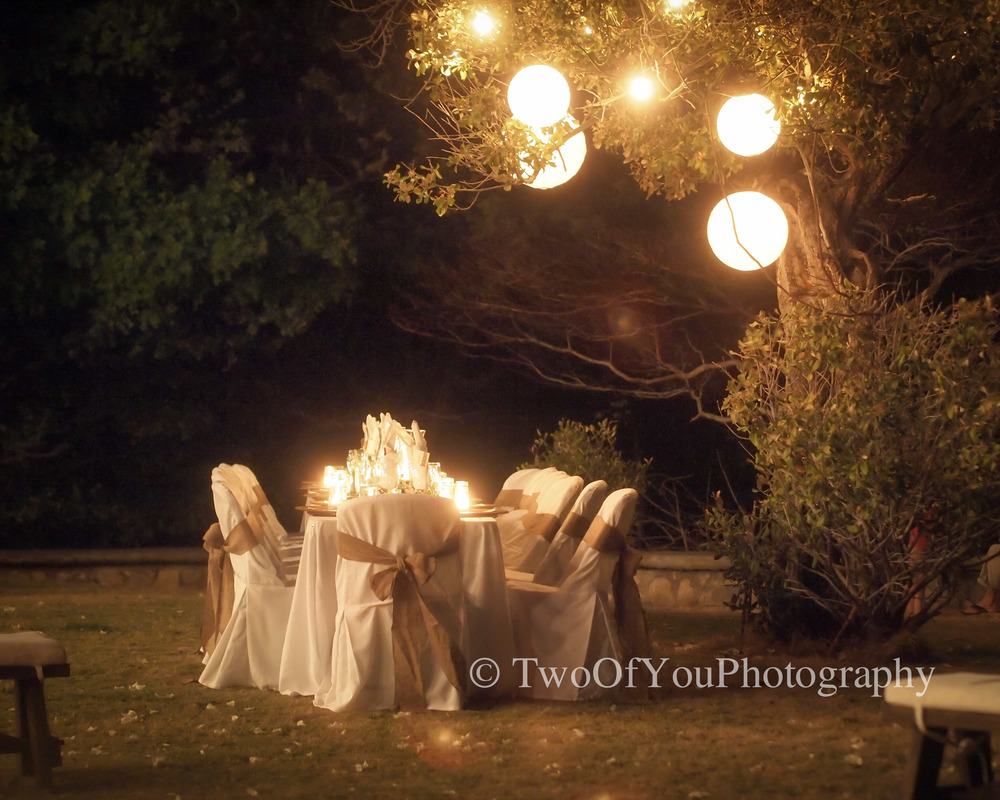 An amazing wedding setting from the team at Rancho Santana