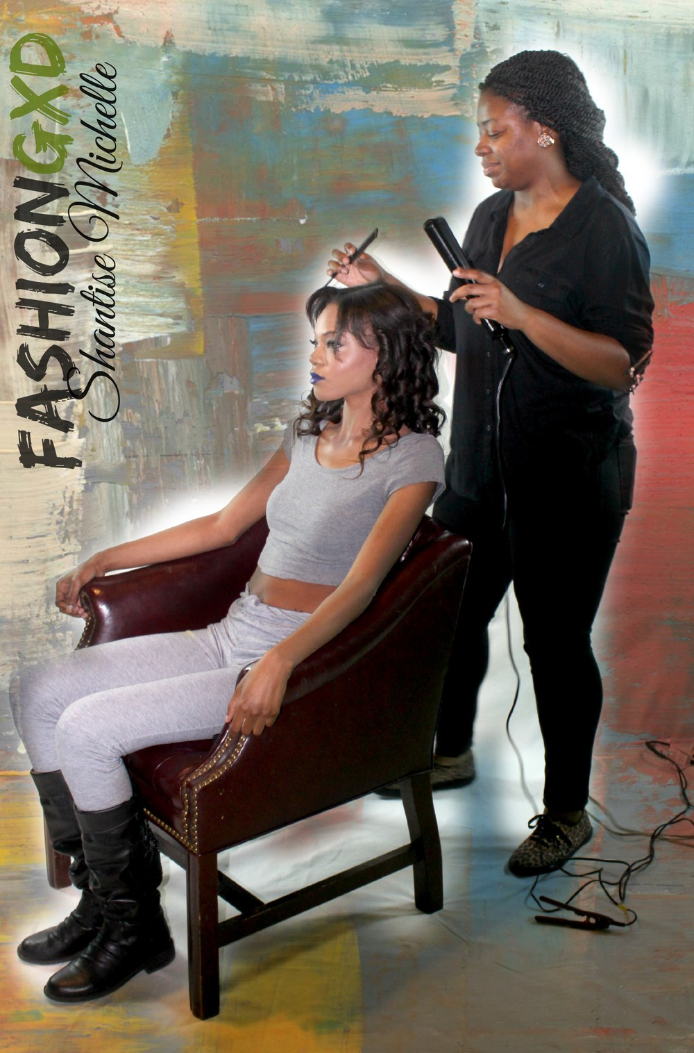 Celebrity Hair stylist shantise michelle