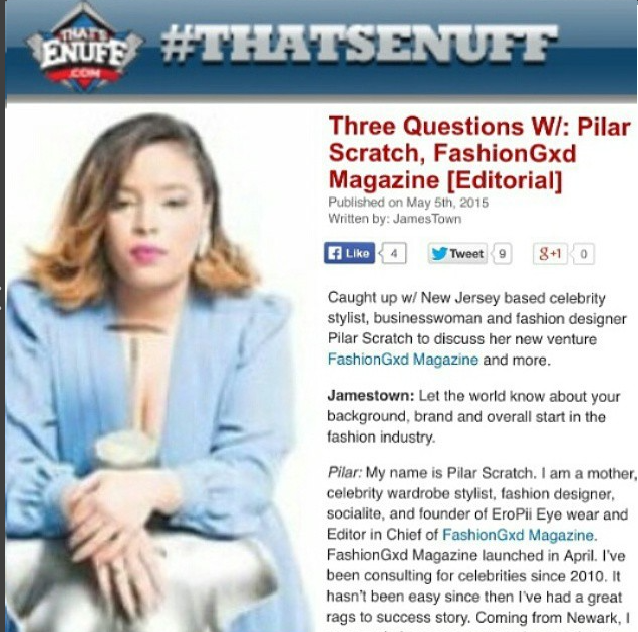 Pilar Scratch on ThatsEnuff.com