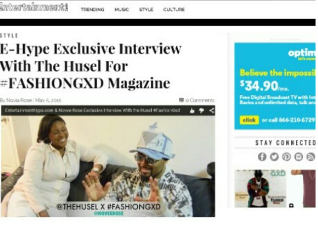 Fashion Gxd Magazine Covered By entertainmenthype.com