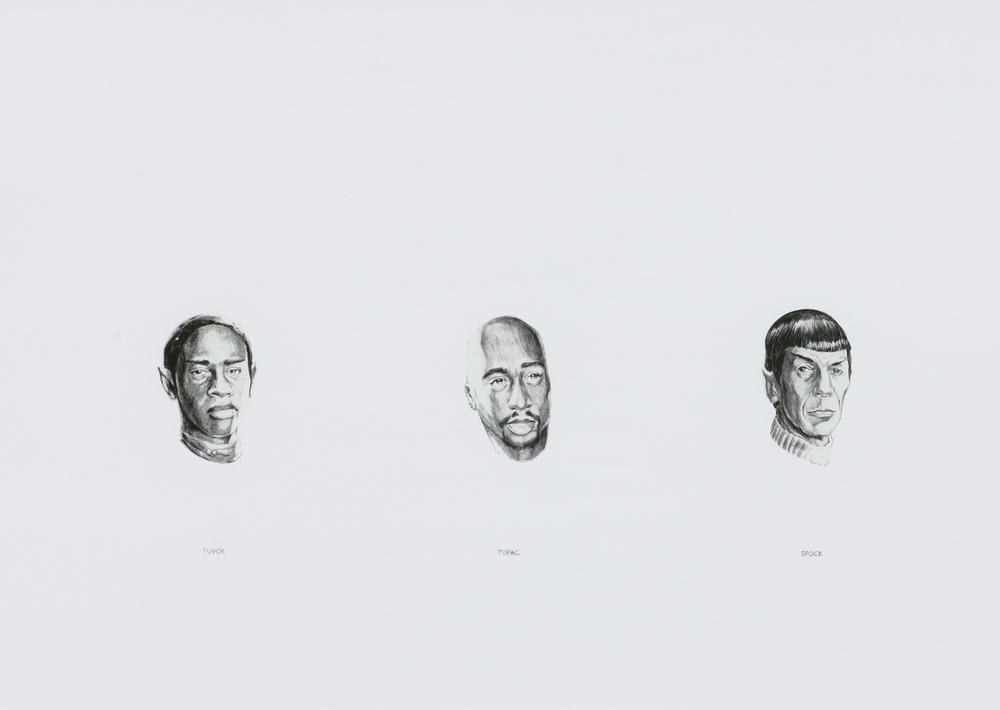 Spock, Tuvok, Tupac. 1997-2001