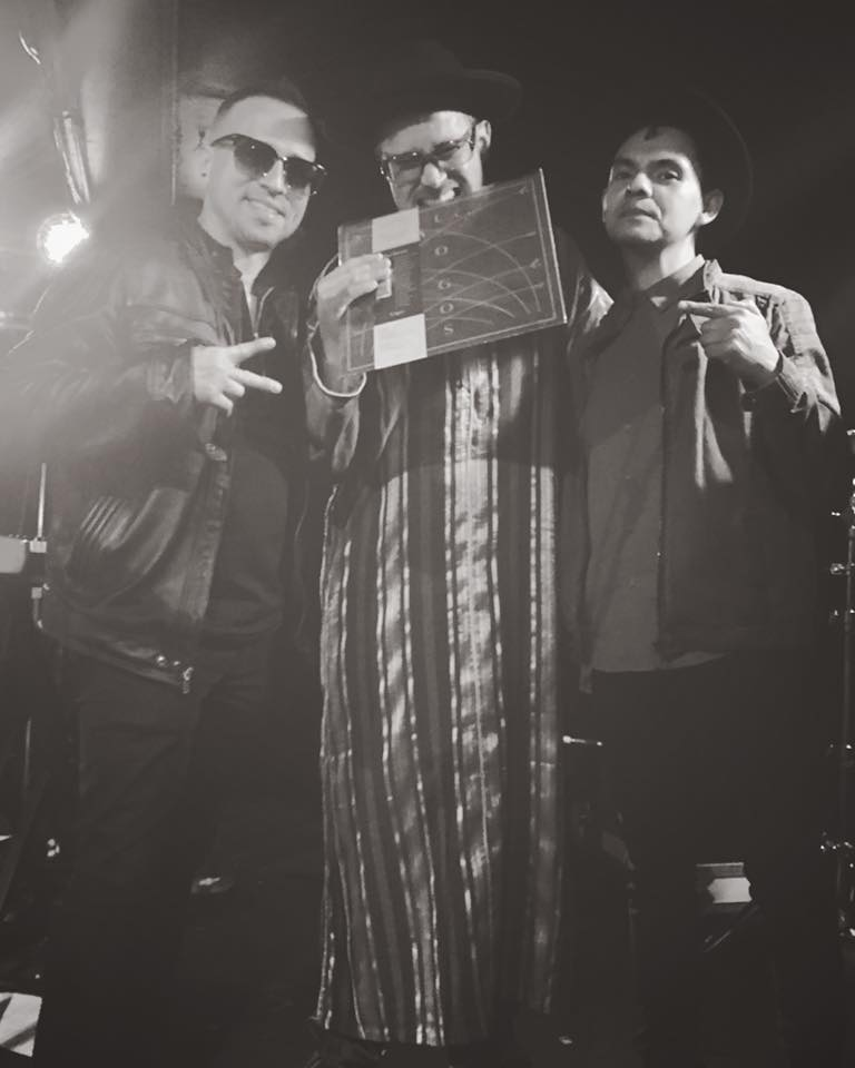 "L-R: Pete ""Maestro"" Vale, Martín Perna, Alex Chavez"