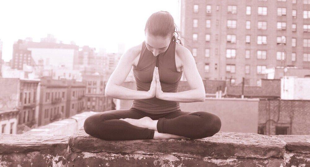 Namaste, from Ruth, Fully Centered Yoga NYC