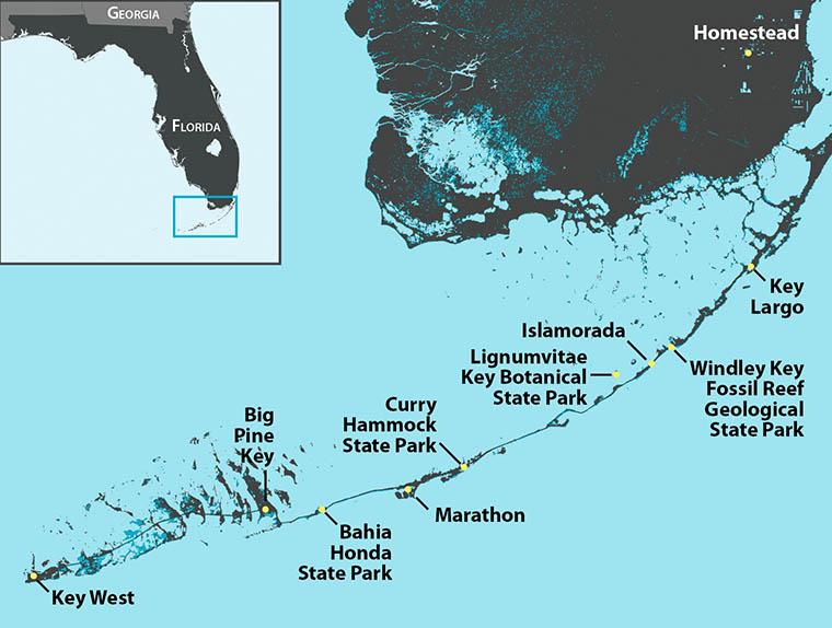 Sea Level Rise and the Florida Keys