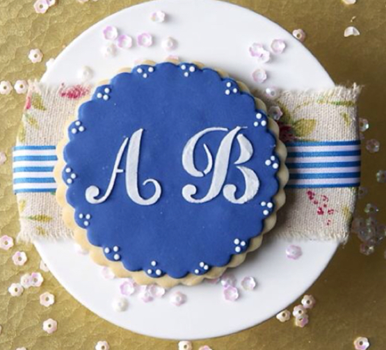 monogram biscuit