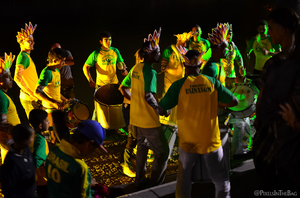 Un groupe de musique brésilienne.