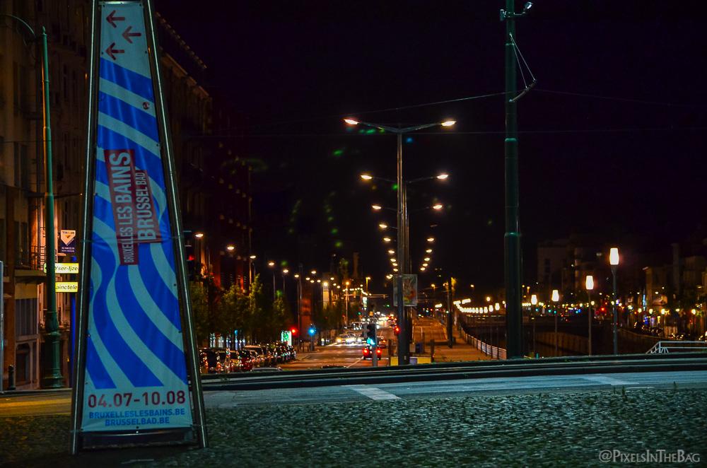 Affiche pour Bruxelles Les Bains.