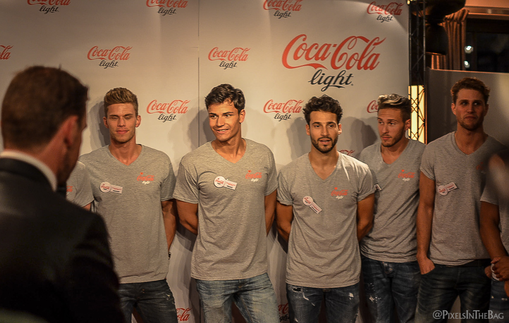 Coca-Cola Light Man candidats.