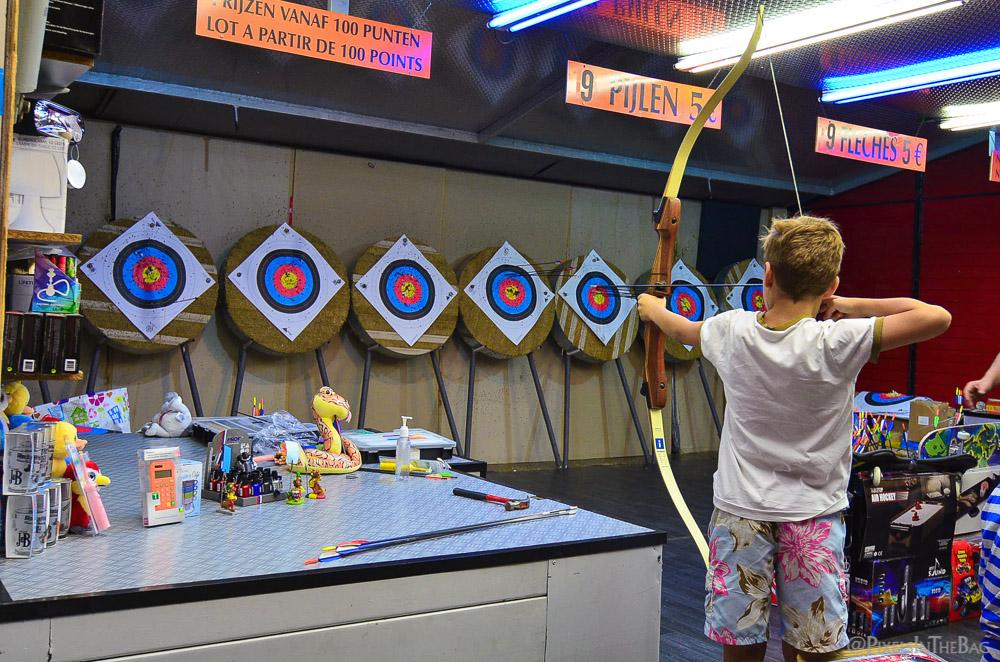 Archery challenge.