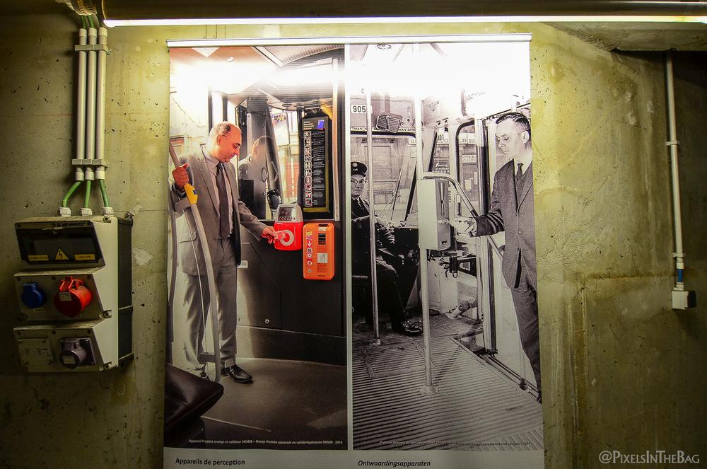L'évolution des appareils de perception de la société des transports intercommunaux de bruxelles.