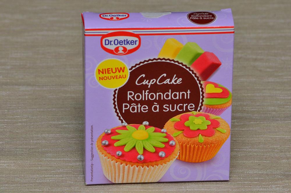 La pâte à sucre Dr. Oetker que nous avons utilisée.