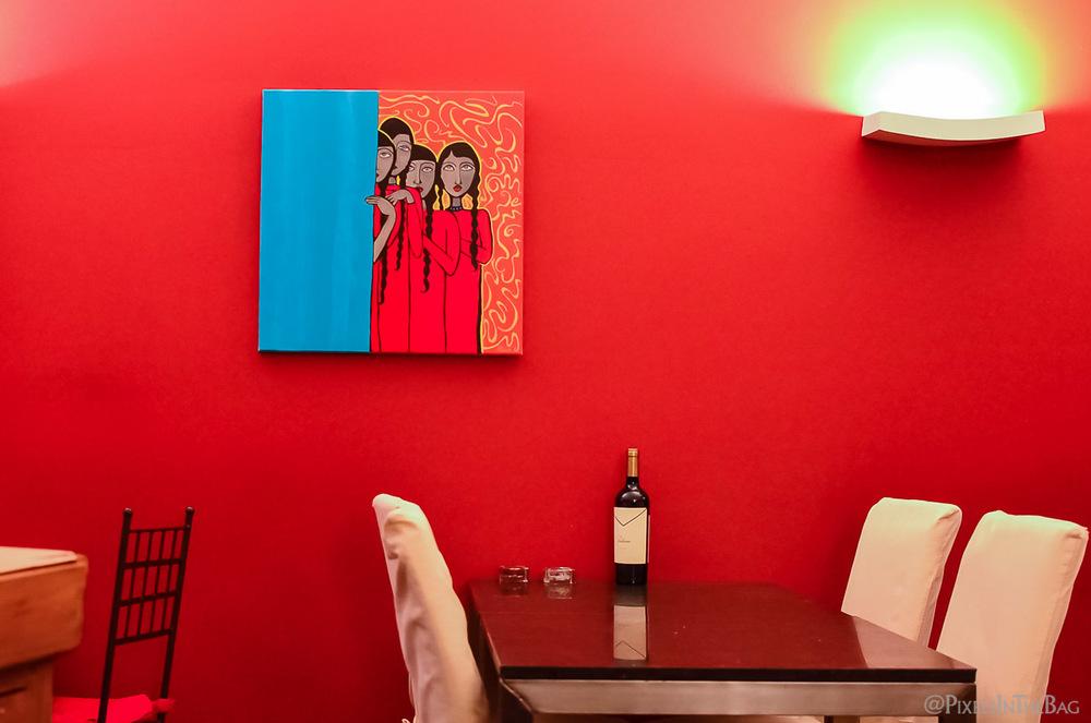 Décoration au restaurant Garuda de Bruxelles - 05