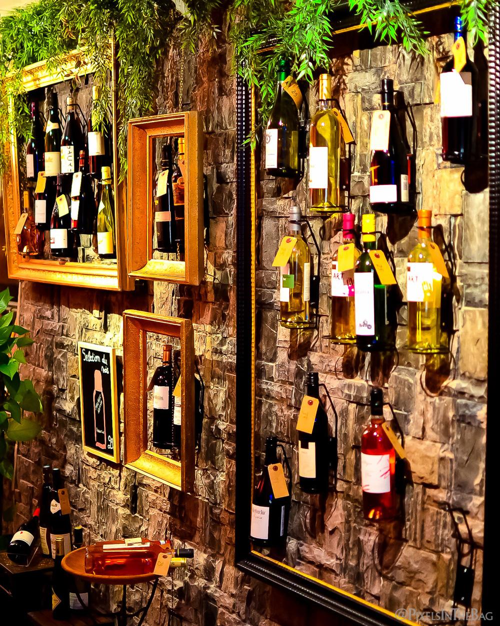 Décoration au restaurant Garuda de Bruxelles - 02.