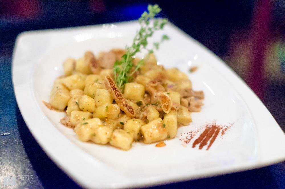 Gnocchi au Ragout de lièvre et figues séchées