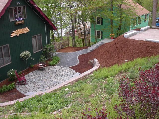 Landscape design in ma natural path landscaping for Garden design internship