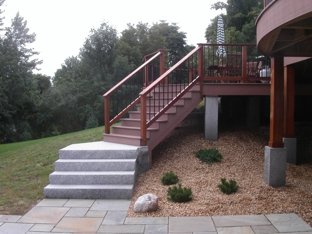 Decks In Ma Natural Path Landscaping