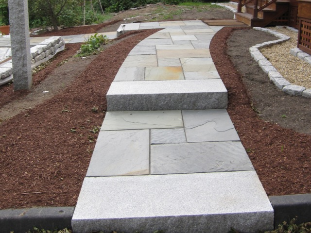 Design capabilities natural path landscaping - Front door walkways and paths ...