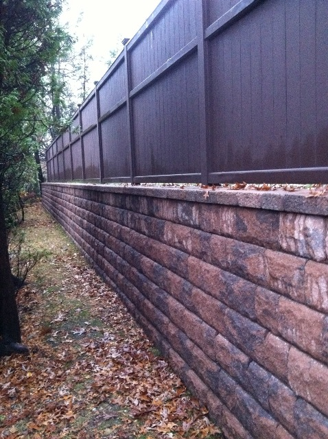 Wall Building In Ma Natural Path Landscaping