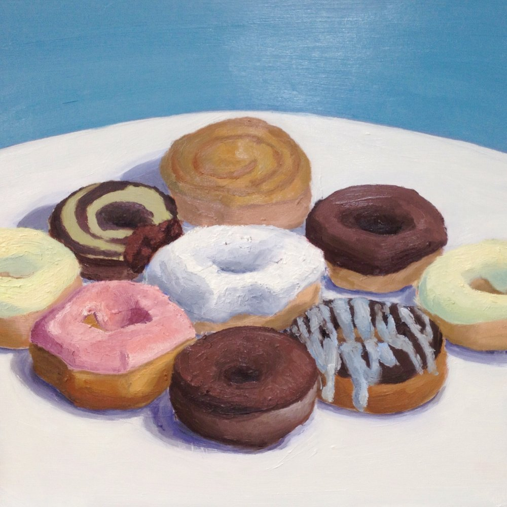 Still Life with Donuts