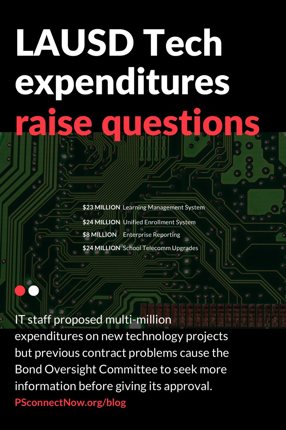 LAUSD Tech expenditures raise questions