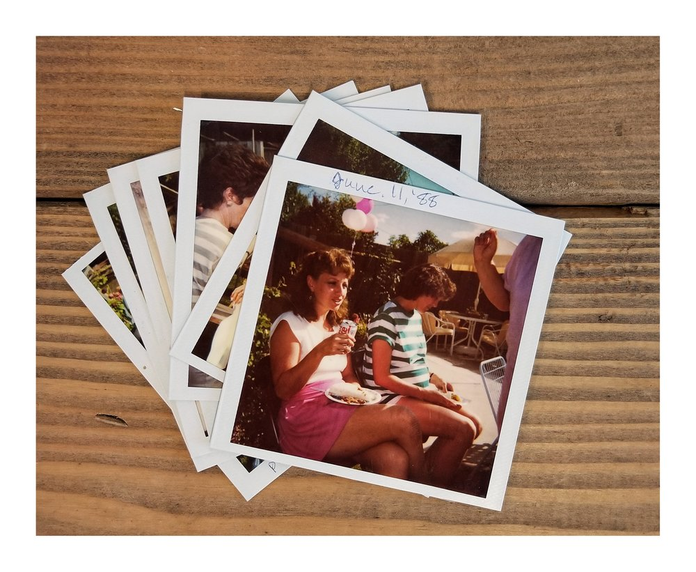 POLAROIds (etc.) - Some prints are too thick and will not be able to be scanned. Contact me if you have questions.