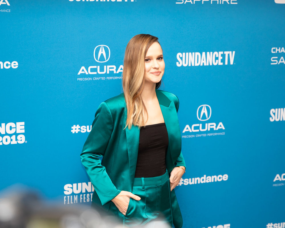 Clara Rugaard - At the premiere of 'I Am Mother' at Sundance Film Festival.