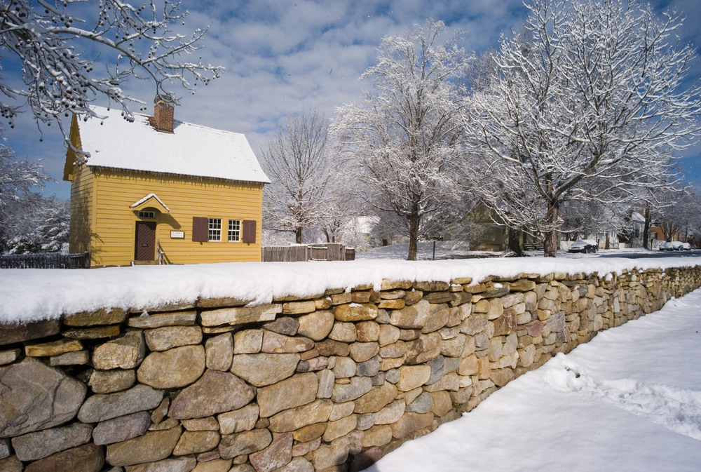 Old Salem Snowfall