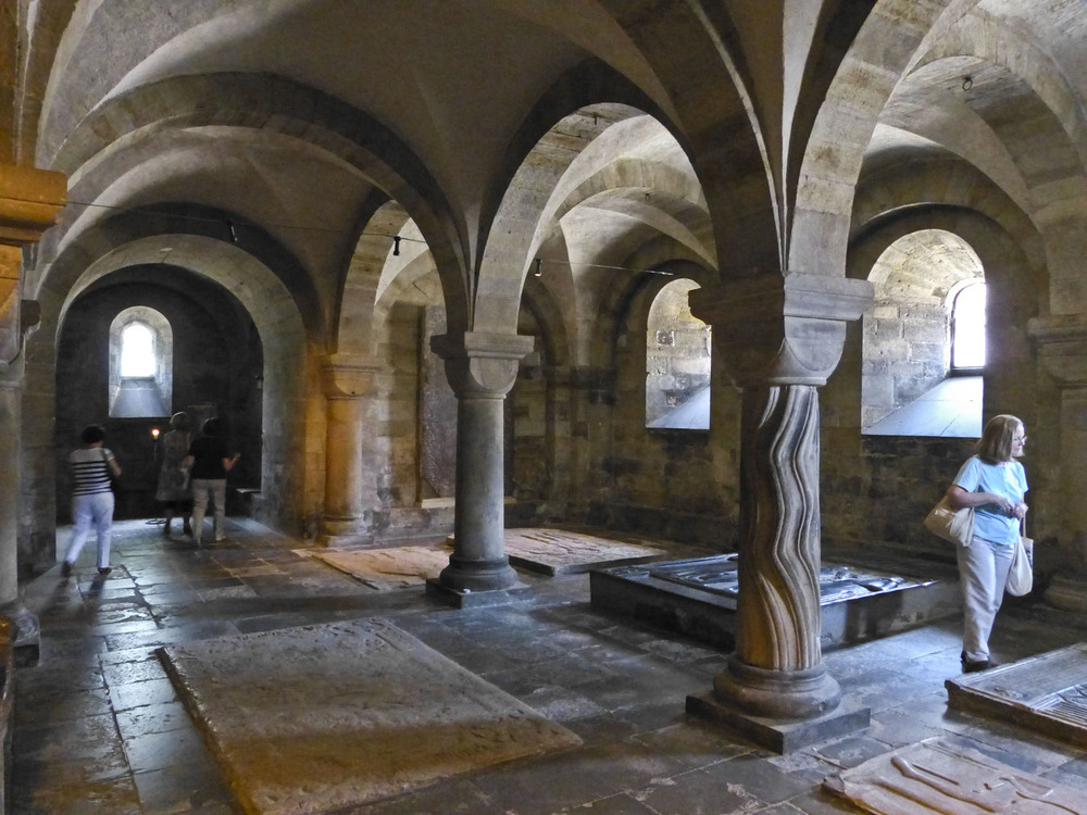 Crypt, Lund Cathedral