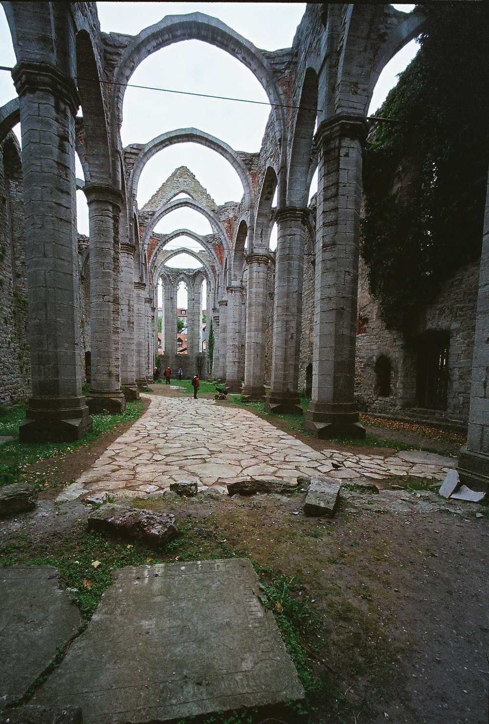 Church ruins, Visby