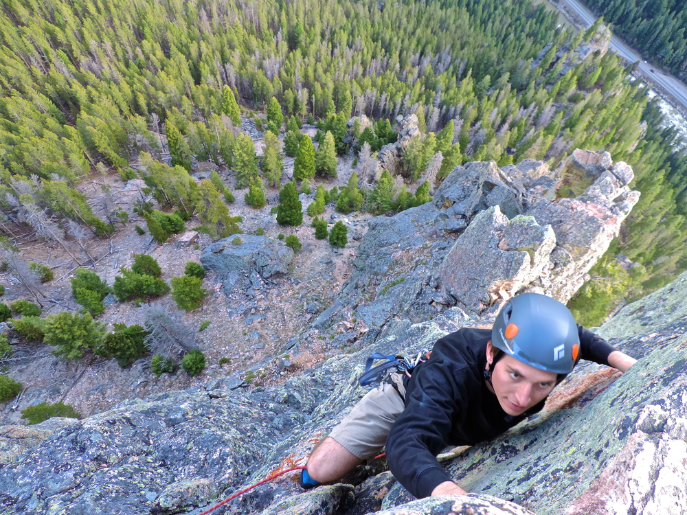 Justin Kauffman on the last pitch of Skyline