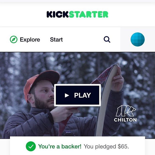 We are live on Kickstarter! Handmade skis from locally sourced wood! 50% funded in less than 24 hours!!!! LINK IN BIO