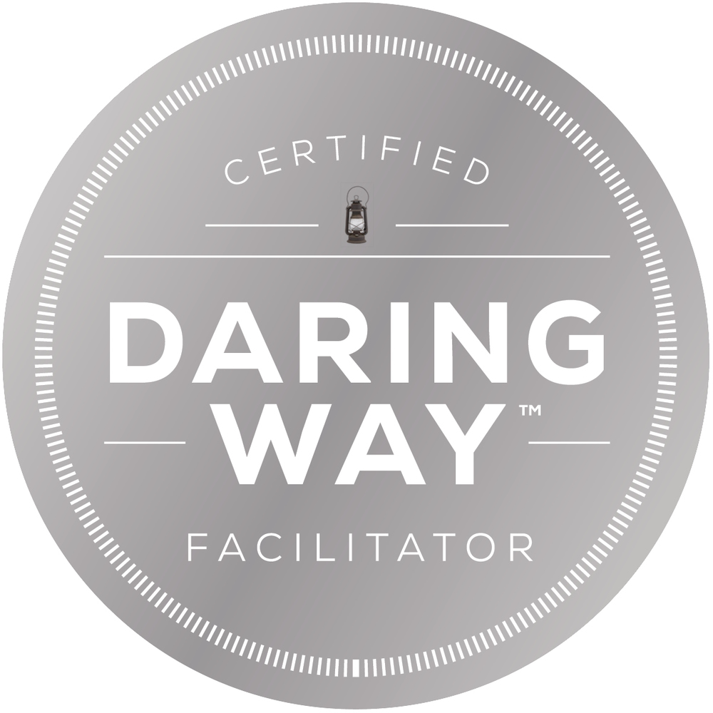 Cheryl is a certified daring way facilitator and coach.
