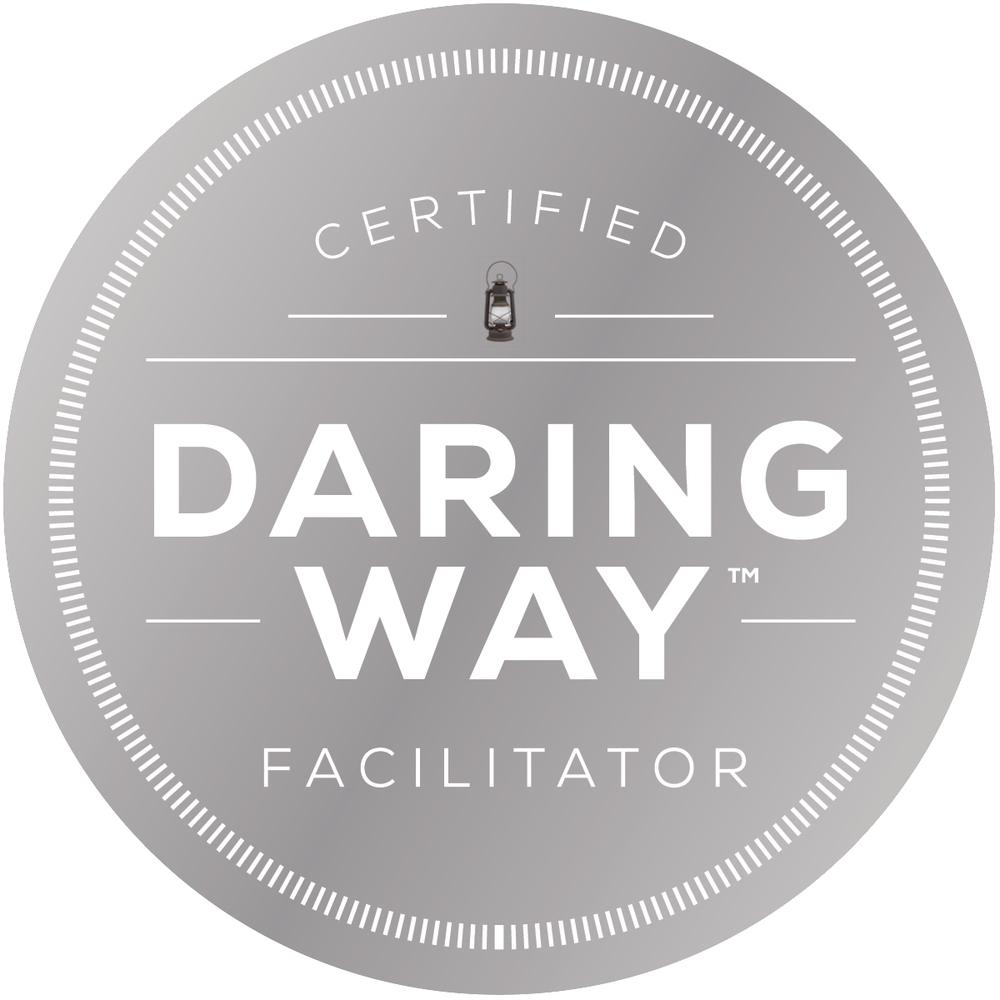 Cheryl is a certified daring way facilitator and coach.