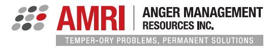 Cheryl is a facilitator for Anger Management Resources Incorporated. AMRI