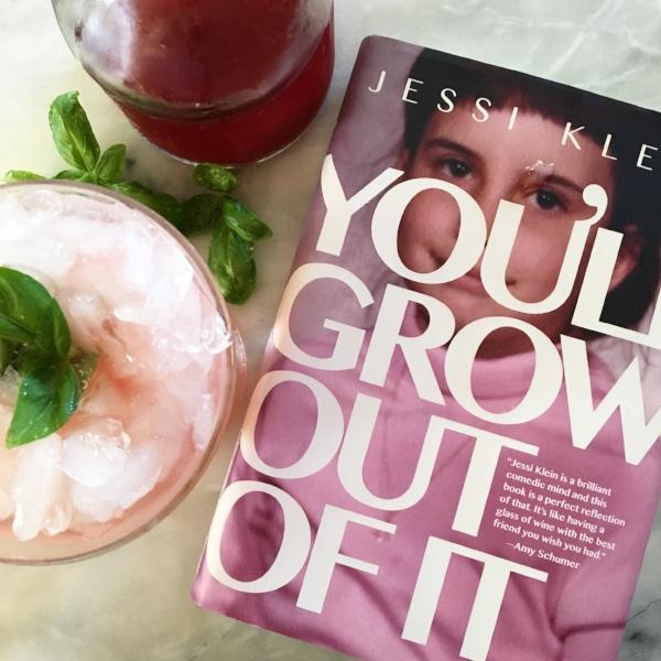 Strawberry-basil mojito. Hashtag drinking while reading.