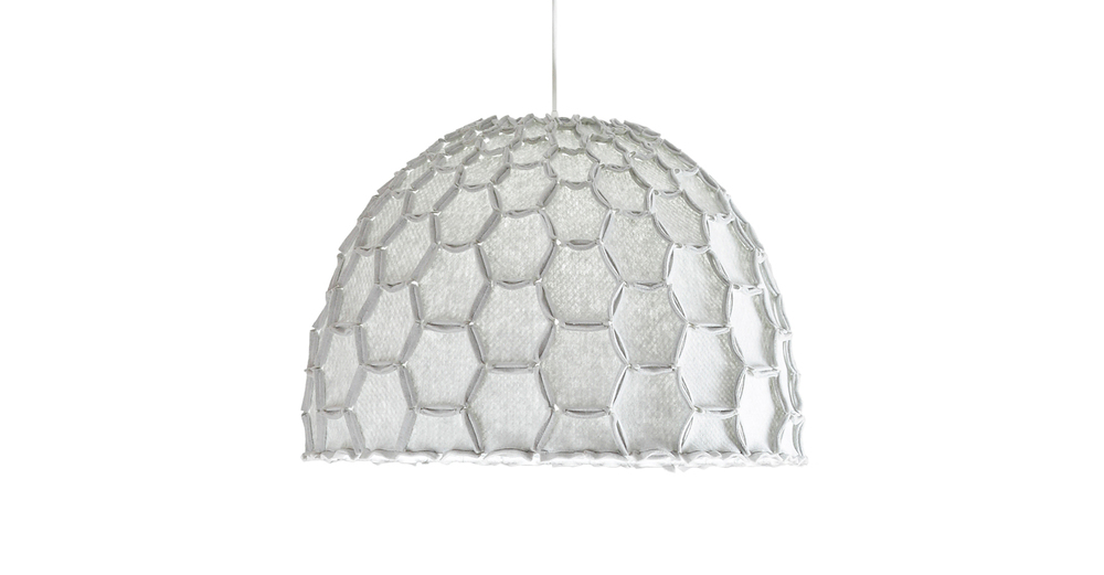 Nectar large half lampshade light grey whiteBG - Designer Designtree.jpg
