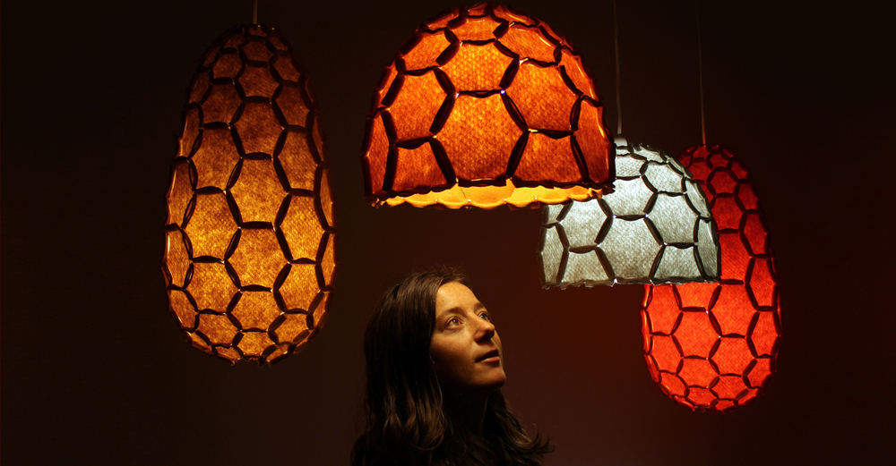 Nectar lampshade group inc portrait - Designer Rebecca Asquith.jpg