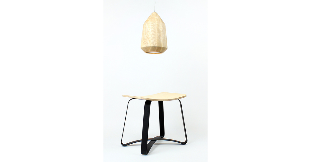 Acorn pendant and Zax stool - Designer Tim Wigmore for Backhouse.jpg