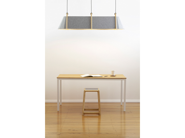 Frankie triple pendant & Chamfer stool insitu 01 - Designer Designtree.jpg