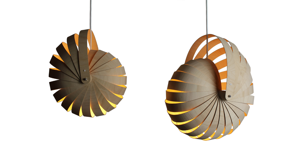 Nautilus lampshade small & med natural white background - Designer Designtree.jpg
