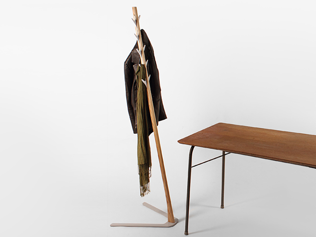 Frankie Coat Stand insitu with table - Designer Designtree.jpg