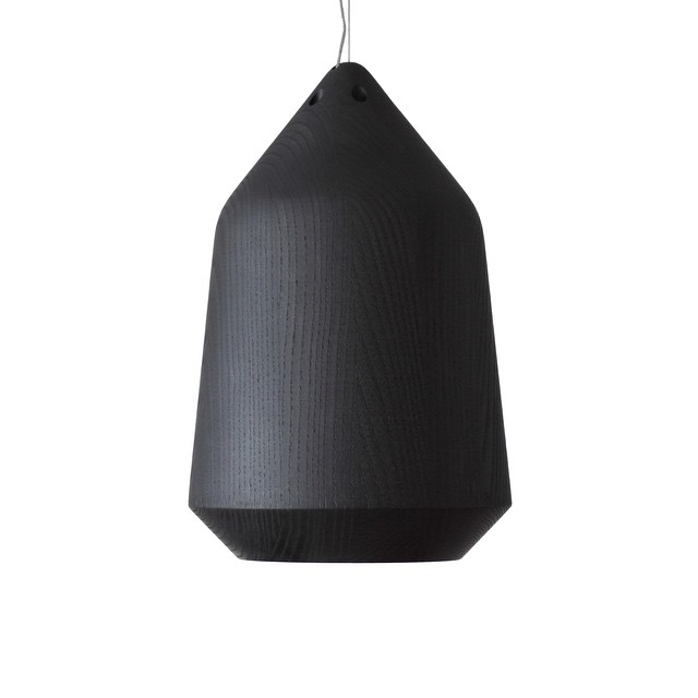 Autumn has arrived and so has a dark surprise to brighten up the new season!     We are proud to introduce the new 'Black Acorn Pendant', as part of Backhouse Interiors Dialog Range. The Black Acorn pendant is a finely crafted pendant lamp made of stained American White Ash. Utilising a combination of clever CNC cutting and hand turning, the Black Acorn melds high design with contemporary craftsmanship.     Available eclusively through Backhouse Interiors      #design #pendant #Designtree #autumn #black #americanash (at Backhouse Interiors, 12 kaiwharawhara Road)