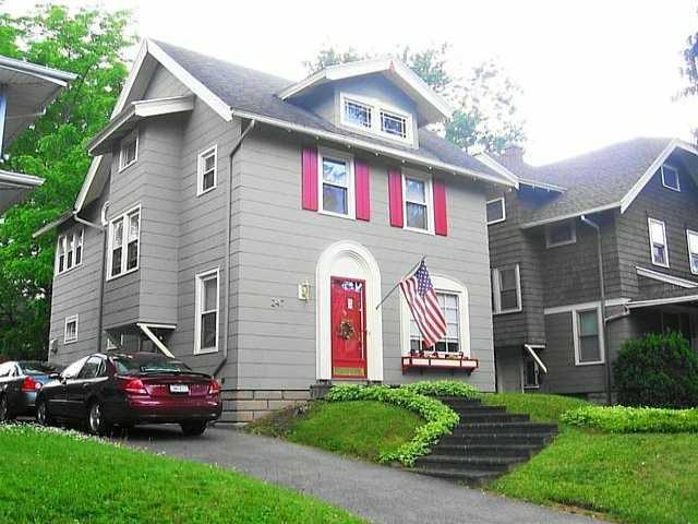 4 bedrooms two full bathrooms. natural hardwood floor. 1600 square feet. large living room and formal dining room.