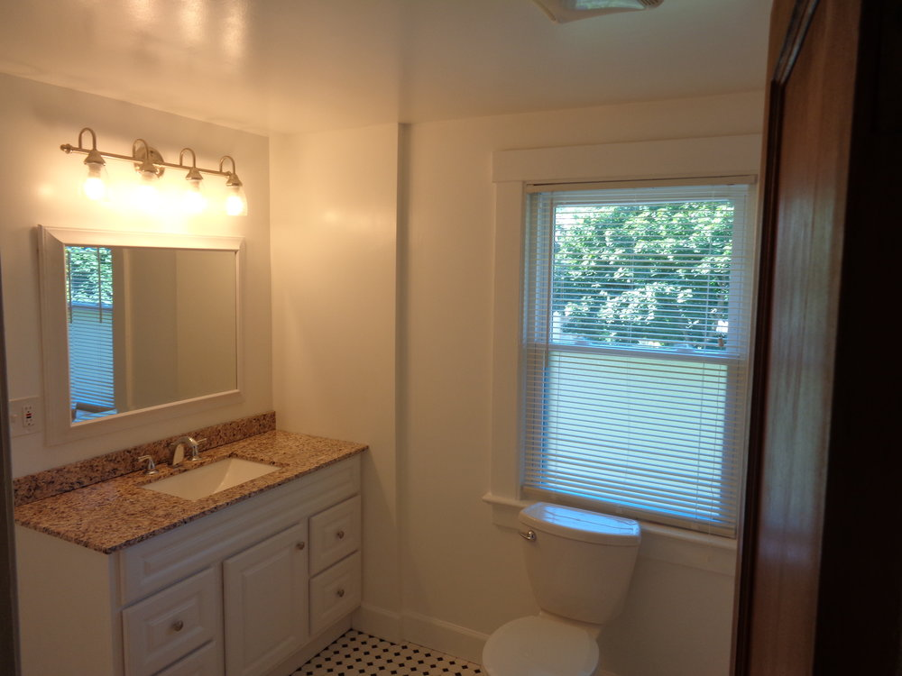 Clean affordable housing in rochester with beautiful newly renovated bathrooms