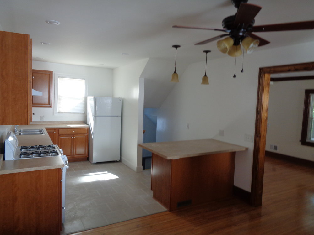 wide open kitchen. perfect for students in rochester ny